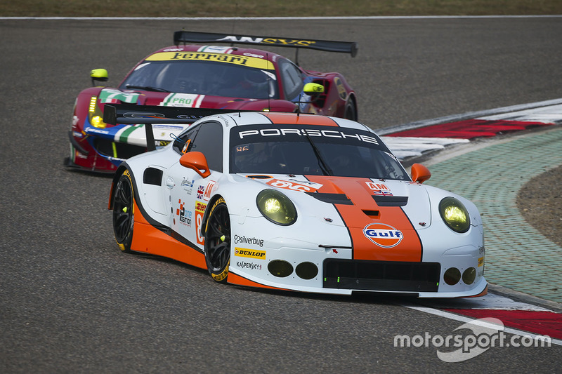 2. GTE-Am: #86 Gulf Racing, Porsche 911 RSR