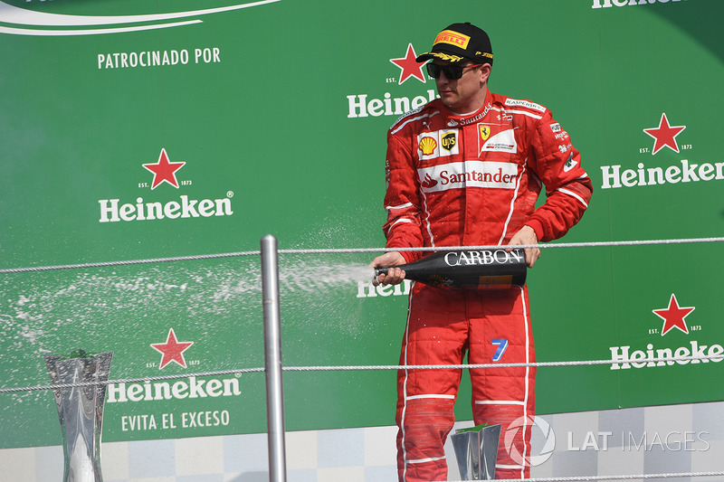 3º Kimi Raikkonen