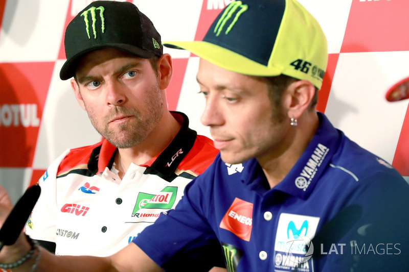 Press Conference, Cal Crutchlow, Team LCR Honda, Valentino Rossi, Yamaha Factory Racing
