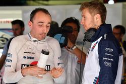 Robert Kubica, Williams and Sergey Sirotkin, Williams