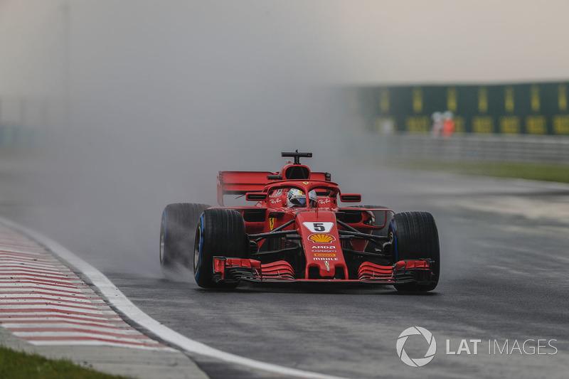 4: Себастьян Феттель, Ferrari SF71H – 1:36.210