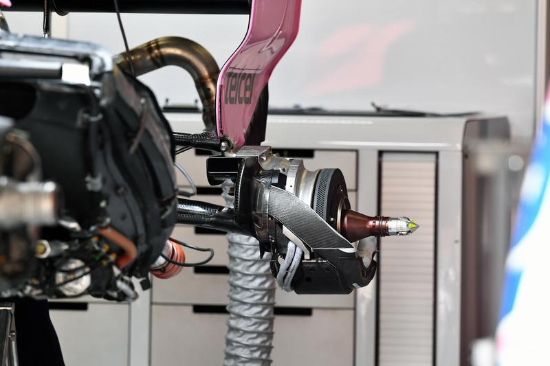 Force India VJM11 fren detay