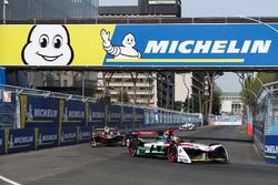 Lucas di Grassi, Audi Sport ABT Schaeffler, Jean-Eric Vergne, Techeetah, Jose Maria Lopez, Dragon Racing
