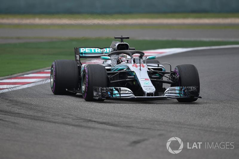 2. Льюіс Хемілтон, Mercedes — 45
