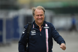 Robert Fernley, Director Adjunto del equipo del equipo Force India F1