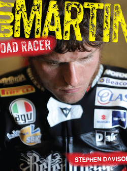 "Guy Martin ""Road Racer"" book cover"