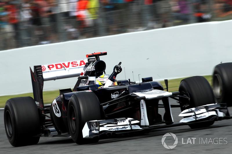 Pastor Maldonado (Williams) - GP Espagne 2012