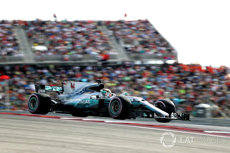 1. Льюис Хэмилтон, Mercedes