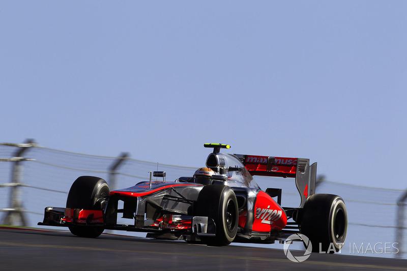 2012 - Austin: Lewis Hamilton, McLaren-Mercedes MP4-27