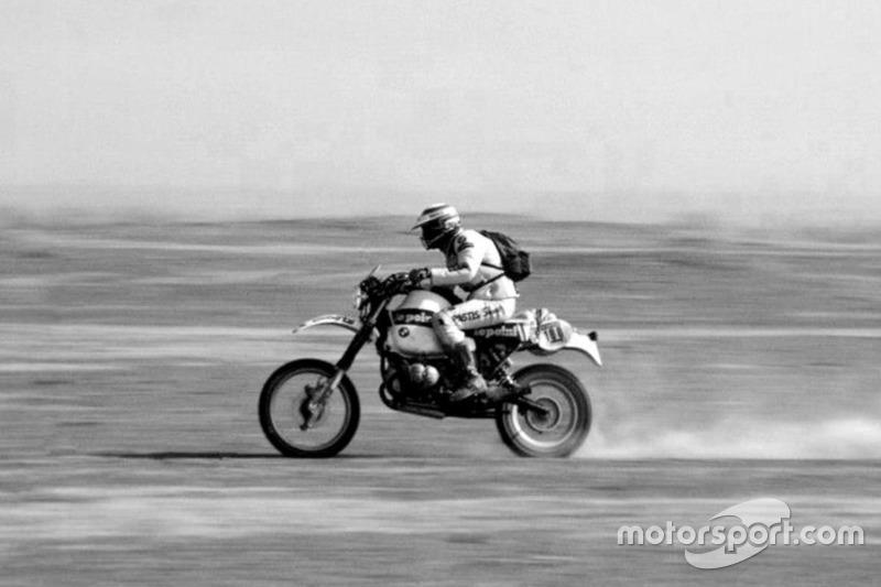 Hubert Auriol, BMW, 2 Dakar