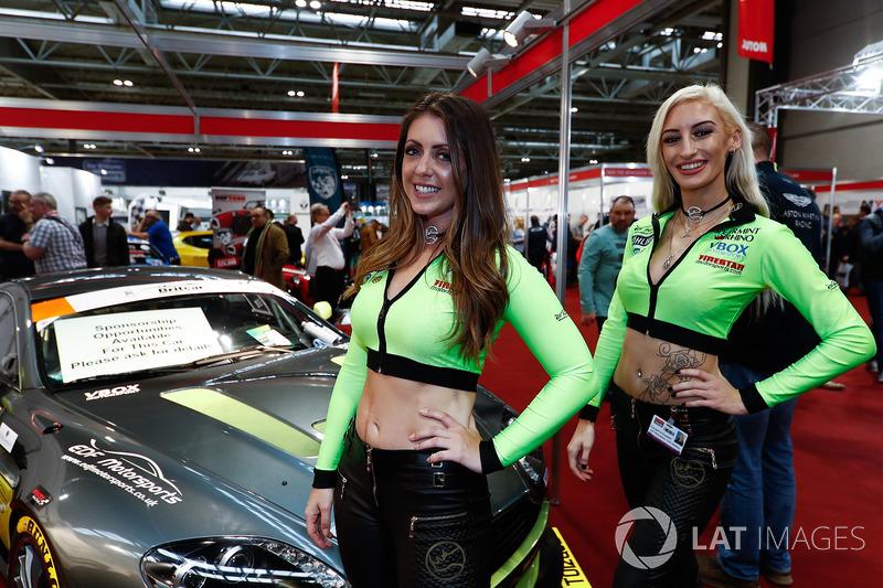 EDF Motorsports promotional models