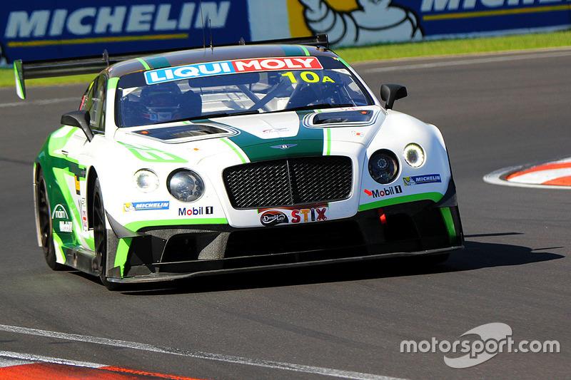10 Bentley Team M-Sport Bentley Continental GT3: Steven Kane, Guys ...