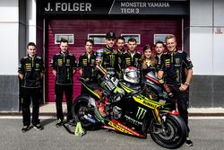 Jonas Folger, Monster Yamaha Tech 3 with the team