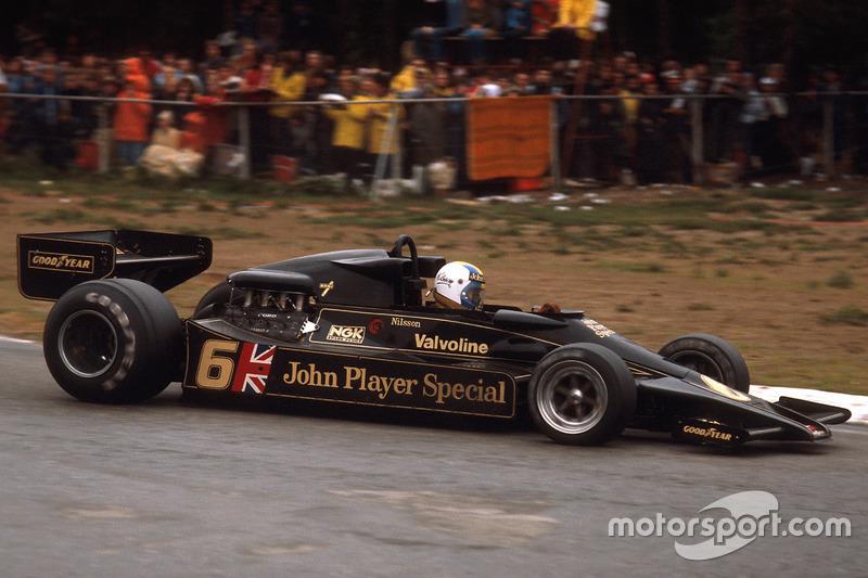 Гуннар Нільссон, Lotus 78 Ford