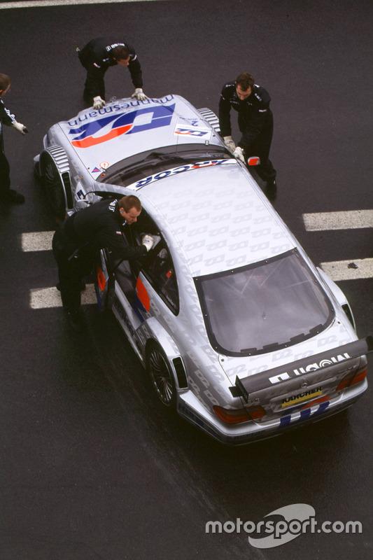 Bernd Schneider, Mercedes AMG CLK DTM, HWA AG