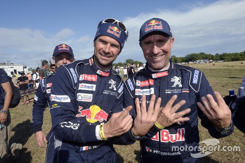 Stéphane Peterhansel, Peugeot Sport, mit Cyril Despres, Peugeot Sport