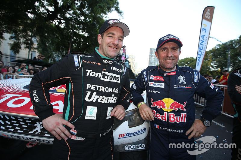Ton Van Genugten, Team de Rooy y Stéphane Peterhansel, Peugeot Sport
