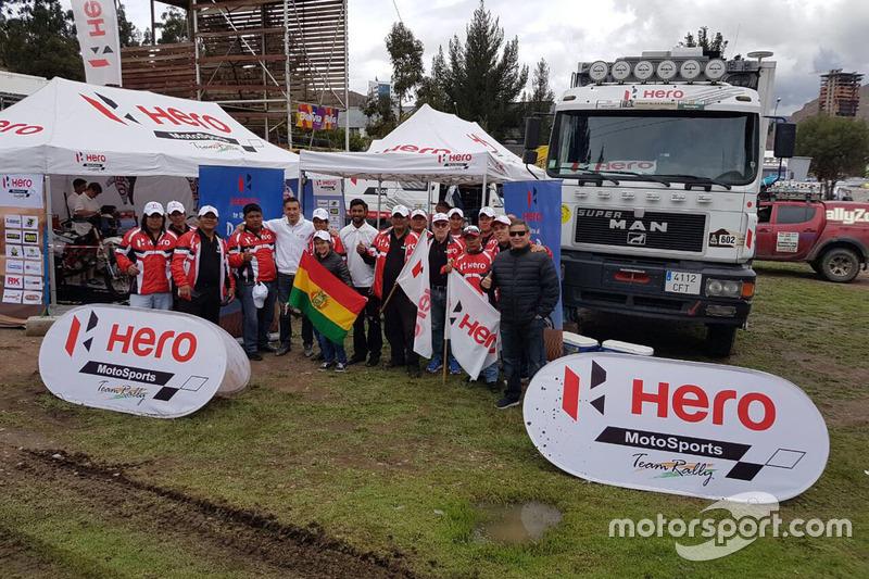 Joaquim Rodrigues, CS Santosh, Hero MotoSports Team Rally, mit Fans