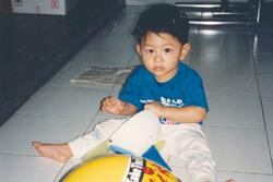 Rio Haryanto sewaktu kecil