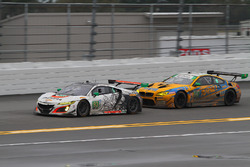 #93 Michael Shank Racing, Acura NSX: Andy Lally, Katherine Legge, Mark Wilkins, Graham Rahal; #96 Tu