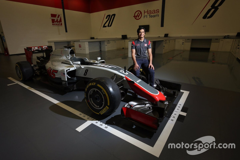 Пилот по развитию Haas F1 Арджун Майни