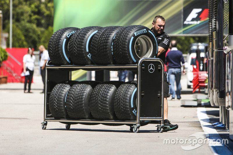 Mercedes team member