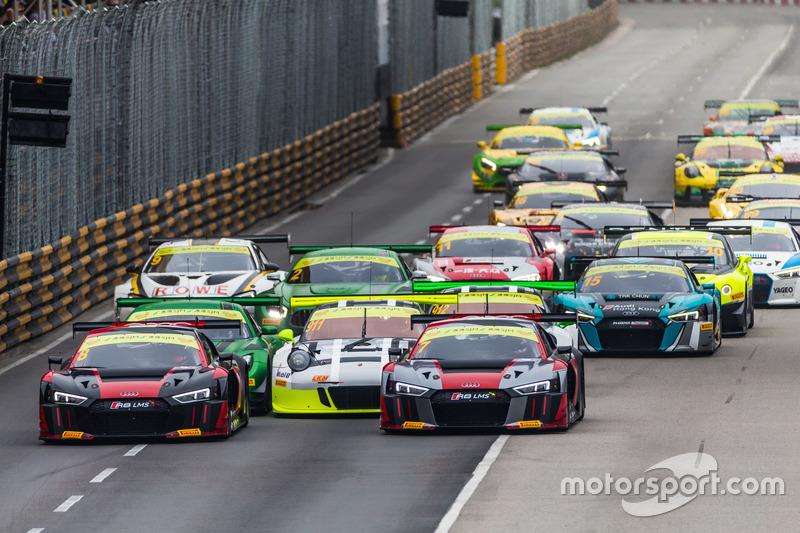 Start zum Rennen in Macau