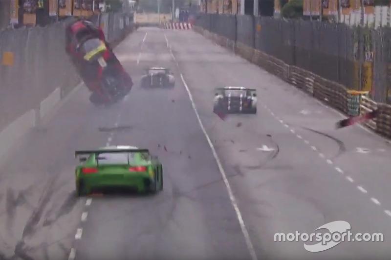 Лоранс Вантор, Audi Sport Team WRT Audi R8 LMS аварія