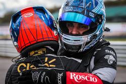 Le vainqueur Pietro Fittipaldi, Lotus, le troisième Roy Nissany, RP Motorsport