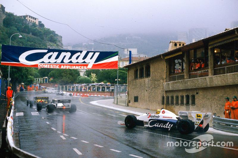 Menção honrosa - GP de Mônaco de 1984