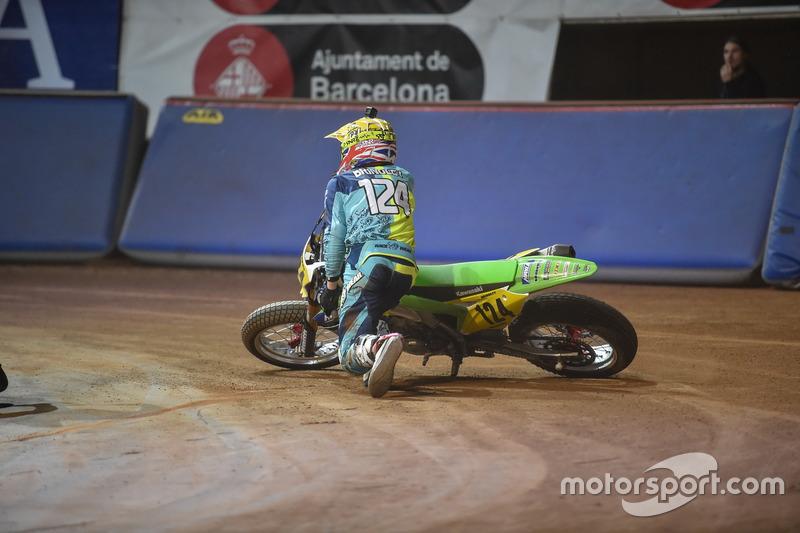 Crash: Oliver Brindley