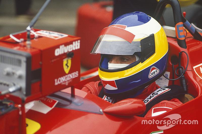 Микеле Альборето, Ferrari F1-87/88С (3 подиума)