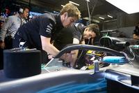Lewis Hamilton, Mercedes AMG F1, mit Halo