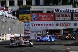 Will Power, Team Penske, Chevrolet; Scott Dixon, Chip Ganassi Racing, Honda