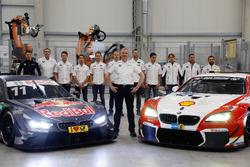 BMW M4 DTM, Nico Menzel, Dirk Adorf, Marco Wittmann, Antonio Felix da Costa, Tom Blomqvist, Maxime Martin, Jens Marquardt, Martin Tomczyk, Bruno Spengler, Augusto Farfus, Timo Scheider, Timo Glock, BMW M6 GT3