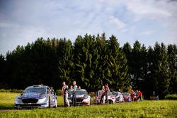 Ott Tänak, Martin Järveoja, Ford Fiesta WRC, M-Sport, Elfyn Evans, Daniel Barritt, Ford Fiesta WRC, M-Sport