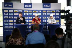 Maxime Martin, BMW Team RBM, BMW M4 DTM, Mike Rockenfeller, Audi Sport Team Phoenix, Audi RS 5 DTM, Lucas Auer, Mercedes-AMG Team HWA, Mercedes-AMG C63 DTM