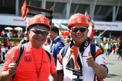 McLaren fans