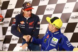 Марк Маркес, Repsol Honda Team, и Валентино Росси, Yamaha Factory Racing