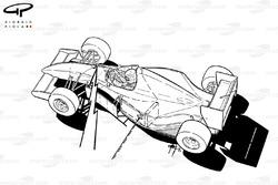 McLaren MP4-8 1993 pit-to-car telemetry view