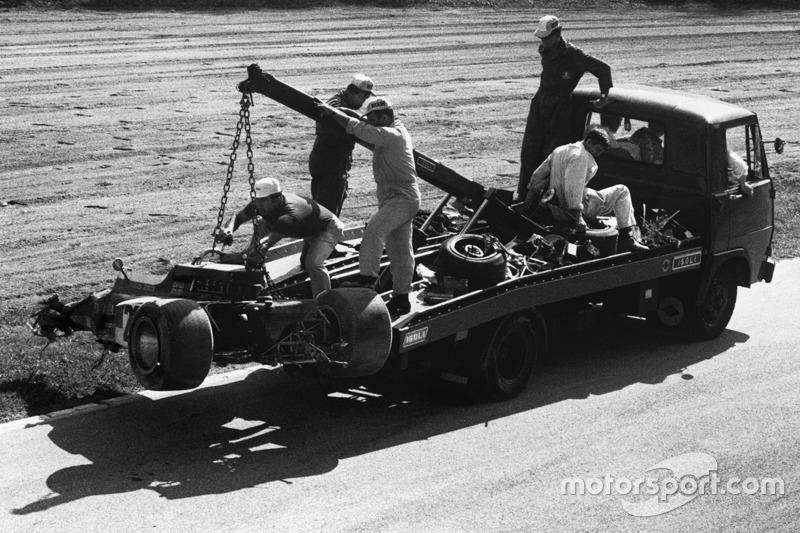 Em uma coincidência triste, foi a bordo do 72C que Rindt sofreu o acidente que tirou a vida dele, nos treinos livres para o GP da Itália do mesmo ano.