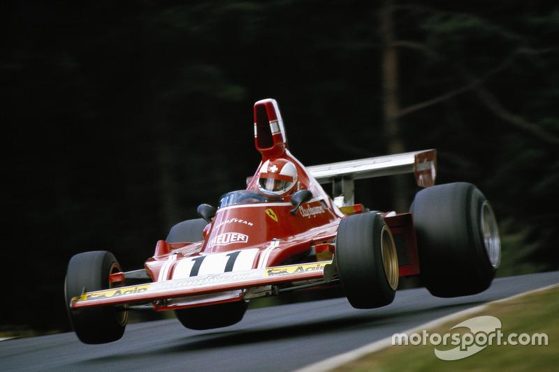 1971 - Clay Regazzoni, Ferrari, menuruni Pflanzgarten