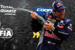 Third place Sébastien Loeb, Team Peugeot Hansen