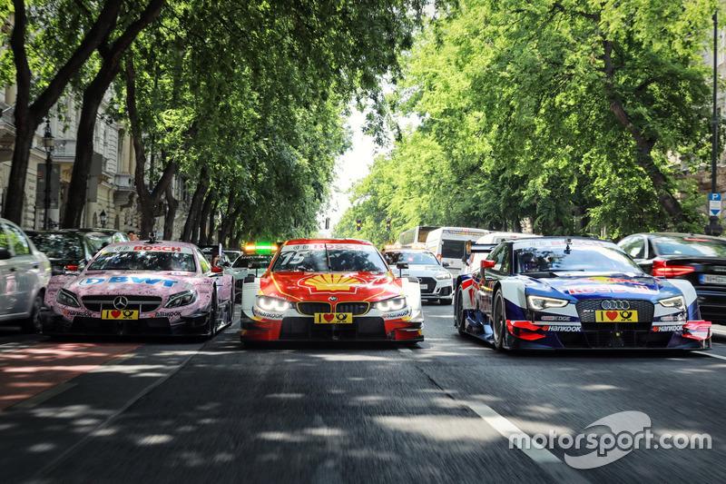 Гері Паффетт, Mercedes-AMG Team HWA, Mercedes-AMG C63 DTM, Аугусто Фарфус, BMW Team RMG, BMW M4 DTM, Маттіас Екстрьом, Audi Sport Team Abt Sportsline, Audi A5 DTM