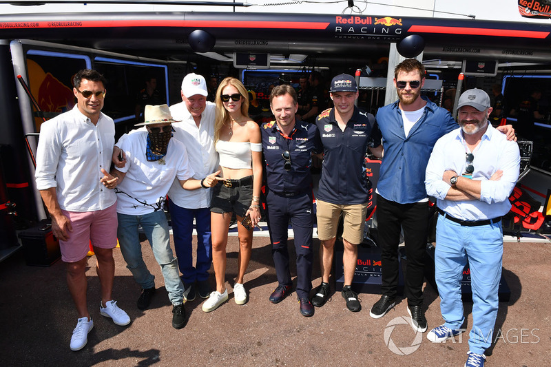 Alec Monopoly,Grafitti Artist, Grafitti Artist, Jean-Claude Biver, CEO de TAG Heuer, Chiara Ferragni, Fashion Blogger, Christian Horner, jefe de Red Bull Racing, Max Verstappen, Red Bull Racing, Chris Hemsworth, actor y Philippe Etchebest, Chef
