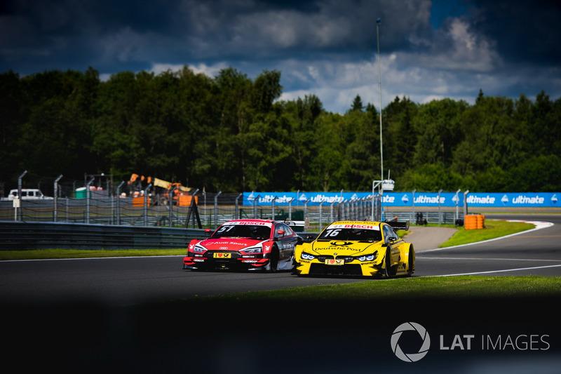 Nico Müller, Audi Sport Team Abt Sportsline, Audi RS 5 DTM, Timo Glock, BMW Team RMG, BMW M4 DTM
