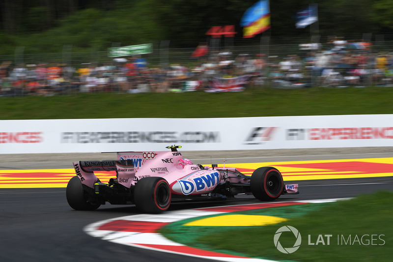 9. Естебан Окон, Sahara Force India VJM10