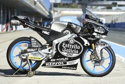 Aron Canet, Estrella Galicia 0,0, Honda Moto3 bike