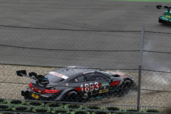 Crash: Robert Wickens, Mercedes-AMG Team HWA, Mercedes-AMG C63 DTM