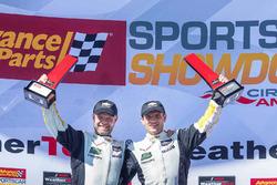 GTLM podium: winner Antonio Garcia, Jan Magnussen, Corvette Racing